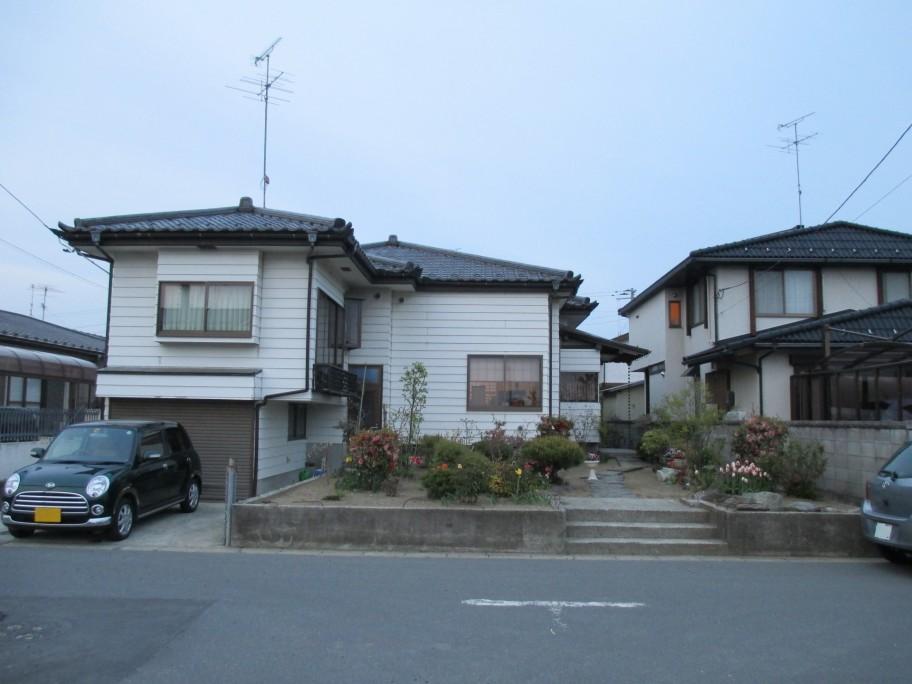 ジャパニーズテイストのお庭が着工しました。宮城県東松島市