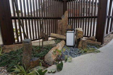 石巻市 坪庭