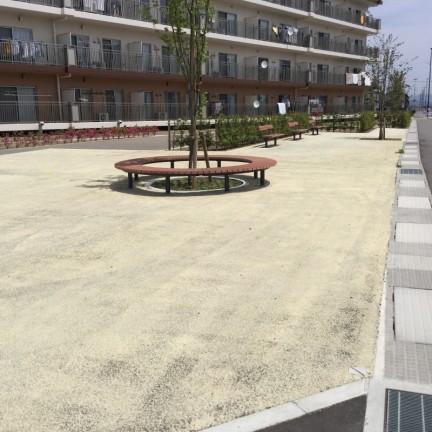 災害公営住宅公園